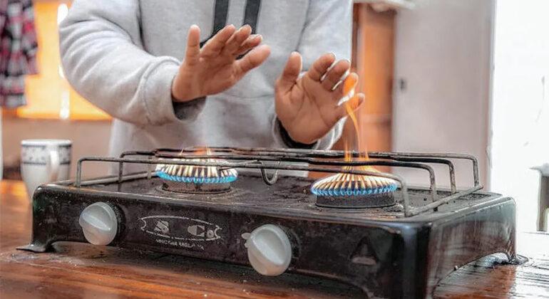 Cuidado con el uso de hornallas y horno para calefaccionar